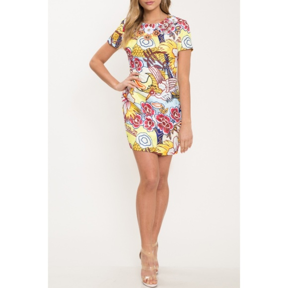 L'ATISTE Dresses & Skirts - NWT L'Atiste Mod Floral Mini Dress